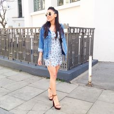 Sunny day. Details - Dress - http://asos.do/PC51tq Heels- http://asos.do/8PsuAf
