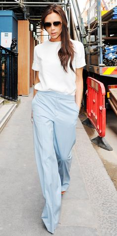Look of the Day - March 24, 2014 | InStyle.com Victoria Beckham in Chloe