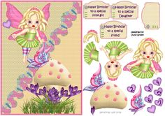 Fairy wishes by Bookfoldanddecoupage on Etsy