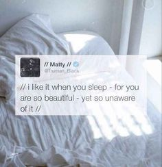 He's totally deep. | 19 Things You Should Know About The 1975