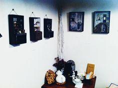 Imagen de la exposición celebrada en part1 | minúscula arte blog miniatura
