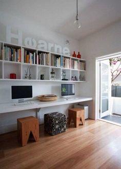 Bookshelf and bifold