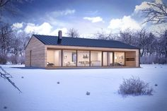 Helpful Tips For modern home design kitchen Modern Barn House, Modern House Plans, Modern House Design, Prefabricated Houses, Prefab Homes, Casas Containers, Modern Farmhouse Exterior, Shed Homes, Roof Design