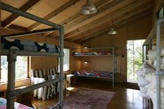 Whale Bay NZ compound designed by Pip Cheshire | Remodelista