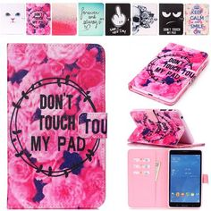 Fashion 10 Patterns  Painting for Samsung Galaxy Tab 4 7.0 T230 T231 T235 Leather Case Cover Stand for Galaxy T230 Tablet Cases  — 468.17 руб. —