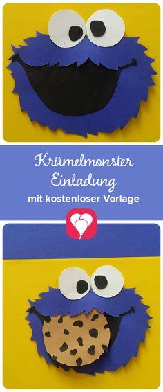 Ein Sesamstraßen Kindergeburtstag Macht Richtig Viel Spaß! Die Passende  Einladung Gibtu0027s Hier! Auf