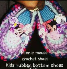 Hey, I found this really awesome Etsy listing at https://www.etsy.com/listing/291312865/minnie-mouse-crib-shoesfrozen