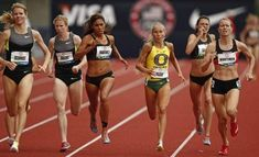 Olympic Trials 2012 - Women's 1500m with my favorite young distance runner Jordan Hasay 4:15.52