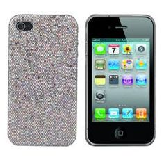 Silver Bling Rhinestone case for iPhone 4. One of nicest case.