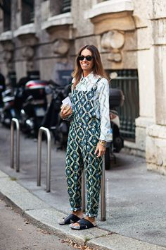 viviana volpicella HEAVEN! Obsessed with this look. Probably my personal favourite fashion ed! #vivianavolpolicella #streestyle #mfw