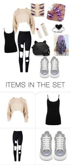 """""""cute school look ^^"""" by gamergirl88 ❤ liked on Polyvore featuring art"""
