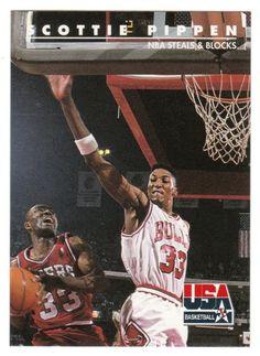 Scottie Pippen # 72 - 1992 Skybox USA Team Basketball