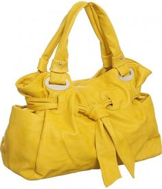 Kind of obsessed with yellow purses right now. So cute.