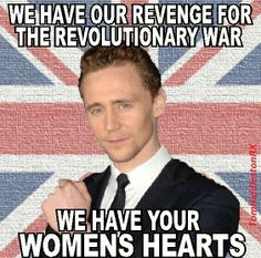 sweet revenge.... tom hiddleston loki