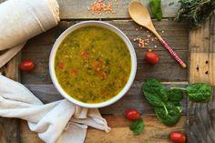Soczewicowa z Papryką i Szpinakiem  – Zupa