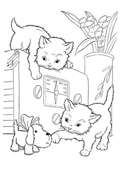 cat coloring pages printablejpg 1293 Colouring pages