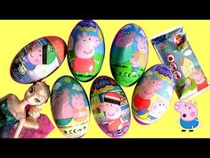New Peppa Pig Surprise Eggs + Clay Buddies Blind Bags Nickelodeon Huevos Sorpresa - http://www.disneytoysreviews.com/kinder-surprise-eggs/new-peppa-pig-surprise-eggs-clay-buddies-blind-bags-nickelodeon-huevos-sorpresa/