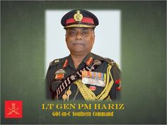 Lt Gen PM Hariz took over as General Officer Commanding in Chief  #SouthernComd http://today.pic.twitter.com/I3wyhH9SnJ #IndianArmy #Army