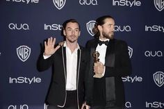 Shannon & Jared Leto wins award for Best Supporting Actor, Golden Globes 1/12/14