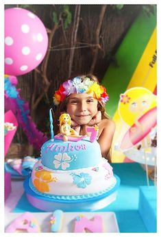 My daughter's dream cake/party - will be using many of these ideas
