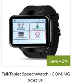 Top supplier of Speech Tablets (AAC Devices) at consumer prices, NOT medical equipment prices. For people with speech impairments caused by autism, aphasia. Speech Pathology, Speech Therapy Activities, Speech Language Pathology, Speech And Language, Autism Apps, Creative Arts Therapy, Self Contained Classroom, Aphasia, Assistive Technology