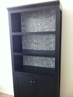 : Threshold 5 shelf with doors bookcase, ebony finish from Target ...