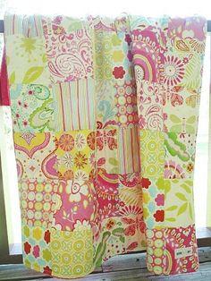 Kumari Garden Crib Quilt