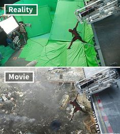 Famous Movie Scenes With And Without Special Effects King Kong, Famous Movie Scenes, Famous Movies, Davy Jones, Marvel Dc, Infinity War, Movie Special Effects, Por Tras Das Cameras, Jurassic Park