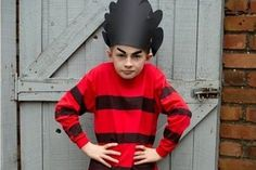 100 of the best World Book Day costume ideas - Grasshopper from James and the Giant Peach – 100 World Book Day costume ideas – Netmums - Kids Book Character Costumes, Book Character Day, Children's Book Characters, World Book Day Outfits, World Book Day Costumes, Boy Halloween Costumes, Diy Costumes, Costume Ideas, Dennis The Menace Costume