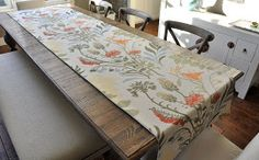 Isabella & Max Rooms: DIY Table Runner