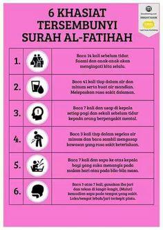 Rahasia surah Al Fatihah. Hijrah Islam, Doa Islam, Islam Religion, Reminder Quotes, Self Reminder, Religion Quotes, Quran Quotes Inspirational, Love In Islam, Islamic Quotes Wallpaper