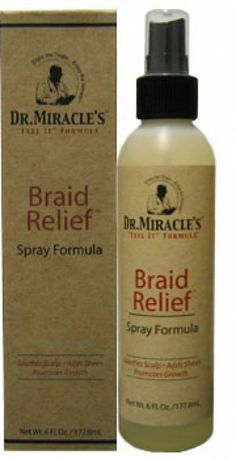 products for box braids   dr miracle s braid relief spray love braids hate