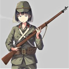 Anime girls with guns part Anime Military, Military Girl, Guerra Anime, Military Archives, Character Art, Character Design, Anime Art Girl, Anime Girls, Fanarts Anime