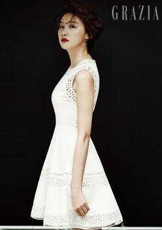 S.Korean actress Yoo In-young (유인영) for GRAZIA Kr.