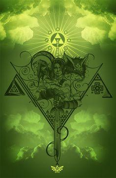 The Legend of Zelda by Gui Soares.