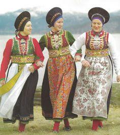 The Fusa Bunad – A Unique Beaded Folk Costume Folk Fashion, Ethnic Fashion, Swedish Fashion, Oslo, Costumes Around The World, Ethnic Dress, Folk Costume, People Around The World, World Cultures