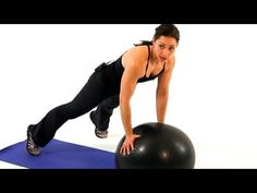 How to Use an Exercise Ball | Boot Camp Workout