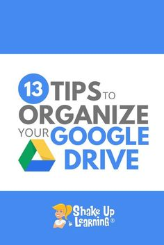 Google Drive is the heart of G Suite and allows you to store your files and access them from any device. Keeping your Google Drive organized can be a struggle, so in this episode and blog post, I am going to share 13 tips to organize your Google Drive. Google Drive, Educational Websites, Educational Technology, Instructional Technology, Educational Crafts, Instructional Strategies, Medical Technology, Energy Technology, Google Training