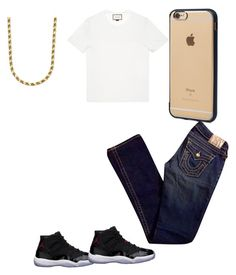 """Untitled #78"" by f0revera on Polyvore featuring Incase, Freaker, True Religion, Gucci, men's fashion and menswear"