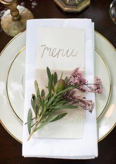 Elegant dining..