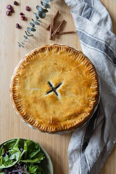 Tourtière is a French Canadian Meat Pie that tastes better than anything you have tried in your life! Crunchy and juicy at the same time. #tourtiere #canadianpie #frenchcanadian Easy Thanksgiving Recipes, Healthy Holiday Recipes, Healthy Meat Recipes, Thanksgiving Appetizers, Vegan Breakfast Recipes, Healthy Cooking, Real Food Recipes, Cooking Recipes, Healthy Meats