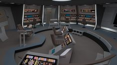 Excelsior Class, Star Trek Bridge, Uss Intrepid, Spaceship Interior, Star Trek Enterprise, Bridges, Concept, Interior Design, Nest Design