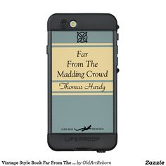 Vintage Style Book Far From The Madding Crowd LifeProof® NÜÜD® iPhone 6s Case