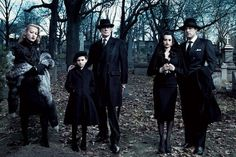 Rinko Kikuchi, Bill Nighy, Abigail Breslin, Penélope Cruz and Ben Affleck in 'Killers Kill, Dead men Die' for Vanity Fair 2007