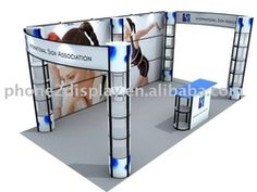 portable trade-show booth - ideas for understructure