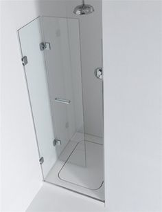 Shower Small Bathroom Renovations, Bathrooms, Shower Cabin, Small Showers, Shower Screen, Glass Shower Doors, Bathroom Inspiration, Bathroom Ideas, Shower Enclosure