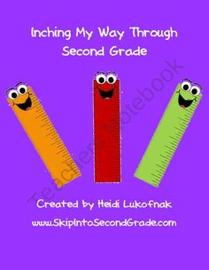 Inching My Way Through Second Grade from Skip Into Second Grade on TeachersNotebook.com (13 pages)