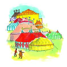 knijpkaarten en andere oefeningen circus