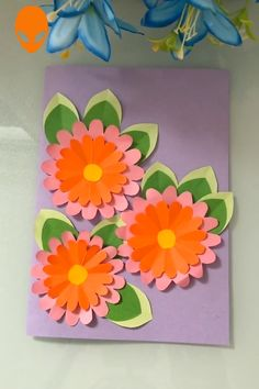 60 stunning diy crafts that your kids inspiration 30 Flower Crafts, Diy Flowers, Paper Flowers, Diy Birthday Decorations, Birthday Crafts, Diy Arts And Crafts, Fun Crafts, Art Drawings For Kids, Paper Crafts Origami
