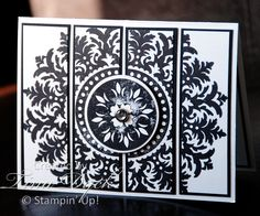 Medallion card by Wannabestampin' - Cards and Paper Crafts at Splitcoaststampers Sympathy Cards, Greeting Cards, Daydream Medallions, Color Card, Stampin Up Cards, Cricut Cards, Paper Cards, Homemade Cards, Making Ideas